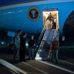 Obama back home after surprise visit to Afghanistan