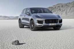 New Porsche Cayenne makes its debut