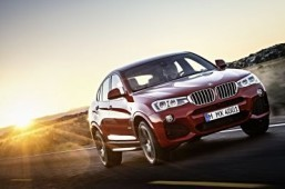 The new BMW X4 with M Sport package A very sporty take on the SUV, even in diesel form ©BMW Group