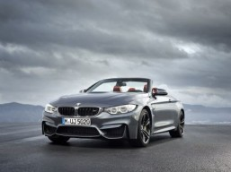The new BMW M4 convertible The car is almost as fast yet much more dramatic than the coupé version. ©BMW Group