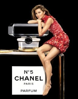 A new travel-sized bottle for Chanel's iconic N°5 fragrance