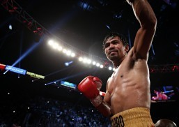 Pacquiao back to PHL after last bout vs. Bradley