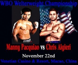 Pacquiao dismisses Algieri threat in Macau