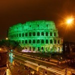 The Colosseum and Sacré-Cœur Basilica to turn green for St. Paddy's Day