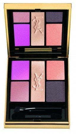 The Pivoine Crush eye shadow palette from the Yves Saint Laurent Spring 2014 makeup collection ©Yves Saint Laurent