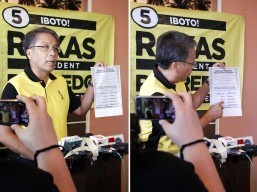 Roxas says he will not spend more than what law provides on campaign