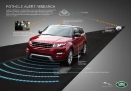 Jaguar Land Rover takes 'hole' new approach to autonomous driving