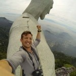 Brit scales Rio's Christ the Redeemer statue and takes epic selfie