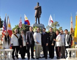 Carson officials, Congen lead wreath-laying rites for Rizal