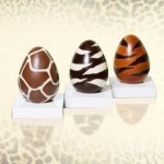 Chocolate Easter eggs get the haute couture treatment