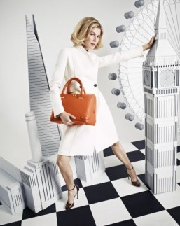 Rosamund Pike's L.K.Bennett bag design revealed in new campaign