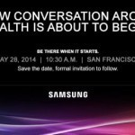 Samsung wants to talk about health