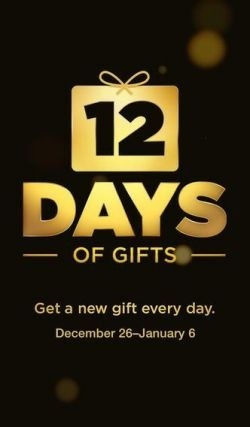 12 Days of Gifts iOS app ©Apple Inc