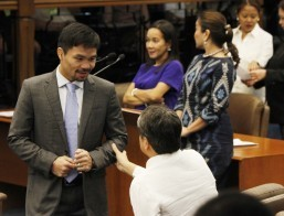 Pacquiao pushes revival of death penalty