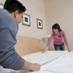 Is sharing housework the key to marital bliss?