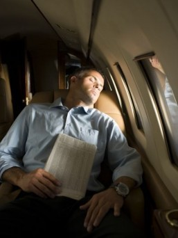 Business flyers offer advice for stress-free travel