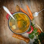 Broth is making a comeback among health conscious and French gourmets