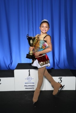 Fil-Am girl shines in SC figure skating scene
