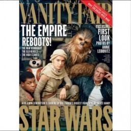 The force is strong in the latest issue of Vanity Fair