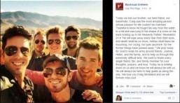 Craig Strickland bandmates mourn country singer's death in Facebook post