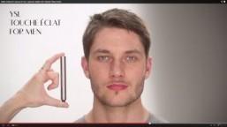 """Subtle 'undercover' make-up for men: a groomed, healthy look 
