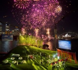 Sydney Harbour stages outdoor pop-up opera under the stars