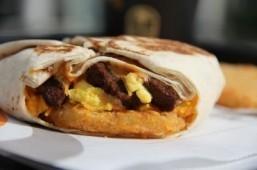 Taco Bell's AM Crunchwrap ©Taco Bell