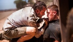 "Still from ""The Rover"" starring Guy Pearce (L) and Robert Pattinson (R) ©2014 A24 Films. All Rights Reserved."