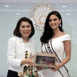 Pia Wurtzbach won't co-host with Steve Harvey in Miss U: DOT Secretary