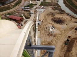 Set to be the scariest water slide on the planet, the Verruckt, which means 'insane' in German, will be the tallest water slide in the world with a 17-storey drop when it's completed in Kansas City next year. © Schlitterbahn Waterparks and Resorts