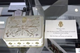 Three-year-old slice of royal wedding cake sells for $6,000