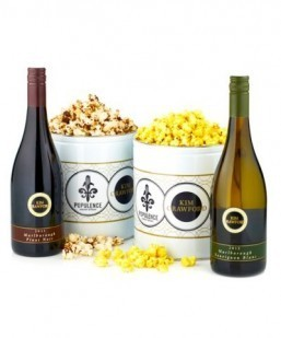 For the sophisticated moviegoer: wine-flavored popcorn