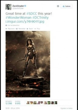 'Batman V Superman': Wonder Woman revealed