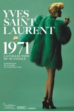 Paris exhibit revisits Yves Saint Laurent's 'scandalous' 1971 collection