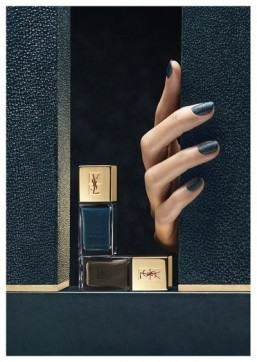 A rock chic makeup line for YSL this fall